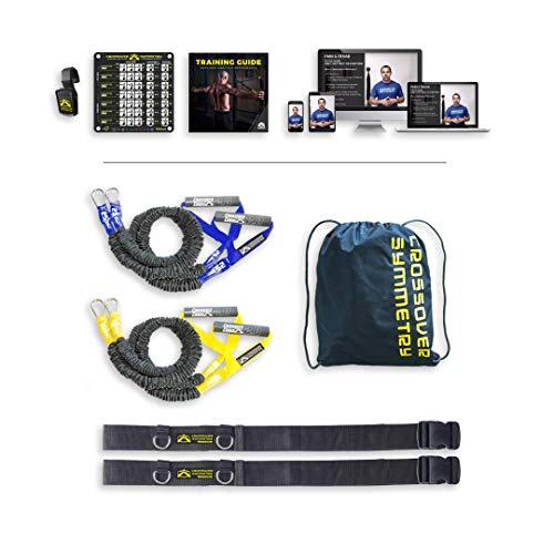 Crossover Symmetry individuels d'épaule Package – Santé et Performances Système avec Bandes de résistance/d'exercice Cordons