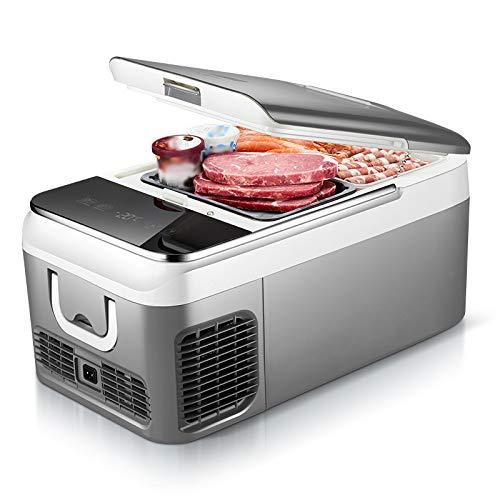 Nevera Portátil 18 litros Frigorífico Congelador Compresor Mini Refrigerador AC/DC para Camión, Camioneta, Viaje en Coche, Exterior, Camping, Picnic, Barbacoa, Patio