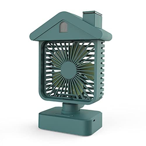 Raffreddatore D'aria Portatile,mini Condizionatore D'aria,ventilatore Da Scrivania,mini Ventilatore Di Raffreddamento Personale Piccolo Usb Ricaricabile Ventilatore a Doppio Spruzzo Con Luce Notturna