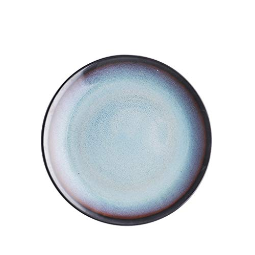 Kitchenware/Tableware Westlichen Stil Keramik Geschirr Gerichte Dish Home Dish Bowl Bowl Reis Bowl Sauce Dish Shallow Mouth Dish Dish Bowl Löffel Schüssel (Größe: E) (Size : D)