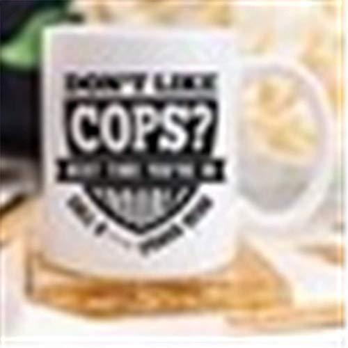 Taza de oficial de policía, regalo de aplicación de la ley, regalos divertidos de oficial, taza de café de policía, regalos de policía, taza de NYPD, taza de línea azul, regalos de humor de policía,