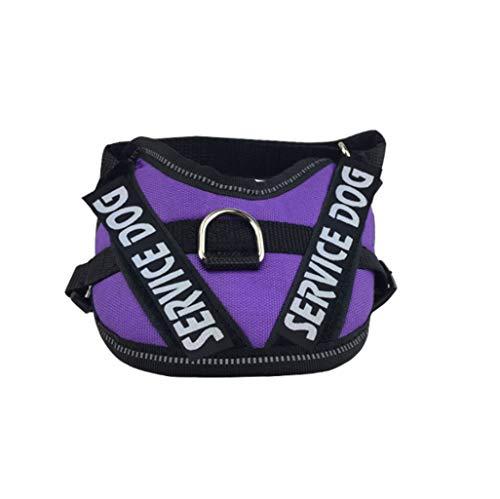 Trekkoord voor huisdieren, borstband K9, kleine en middelgrote honden, explosiebestendig, vest
