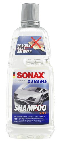 6 x Sonax 215300 Xtreme auto shampoo per fles 1 liter zijn in totaal 6 liter