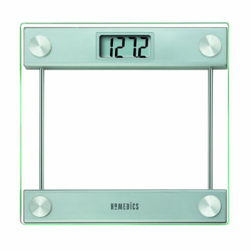 New Homedics Glass Digital Scale