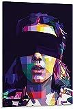 JSYEOP Póster de lienzo con texto en inglés 'Eleven Strangers Things', 40 x 60 cm