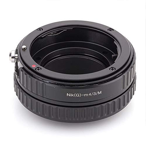 Pixco - Adaptador de Lente Macro a Infinito para Objetivos Nikon F Mount G a Micro Cuatro Tercios 4/3 Panasonic GX9 GF10 GH5S G9 GX850,Olympus E-M1X E-PL9 E-M10 III