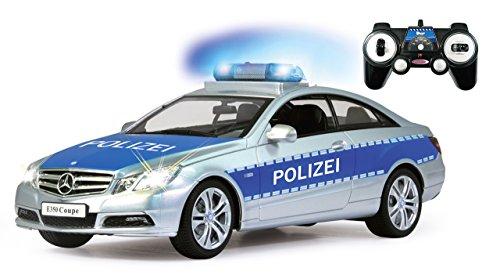 Jamara- Mercedes E350 Coupe Vehículos de Control Remoto, Color Plato/Azul (410023)