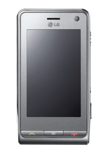 LG KU990 Viewty UMTS Handy mit Touchscreen (Triband, MP3-Player, Bluetooth, microSD-Kartenslot) Silber