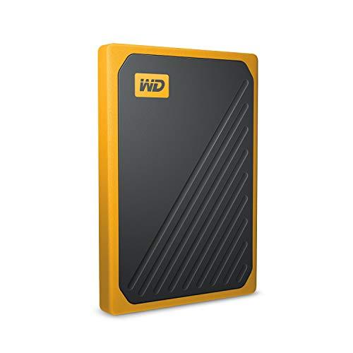 WD My Passport Go Portable 1 TB SSD, bernsteinrand