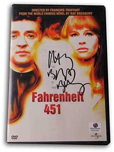 Ray Bradbury Signed Autographed DVD Cover Fahrenheit 451 GX31247