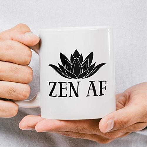 Zen AF Kaffeetasse, Zen und Buddhismus Kaffeetasse, Buddha Kaffeetasse, Buddha-Tasse, Buddha-Tasse, Buddha-Tasse, Buddha-Tassen, Buddha-Tassen, Kaffeetasse
