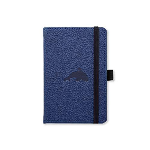 Dingbats D5408BL Wildlife A6 Pocket Hardcover Notizbuch, Liniert Blauwal