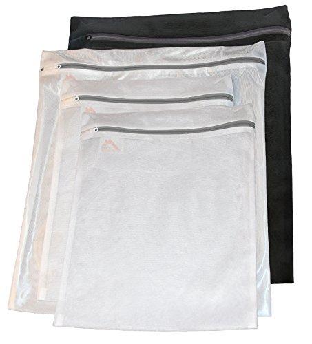 InsideSmarts Delicates Laundry Wash Bags Set of 4 2 Medium 2 Large