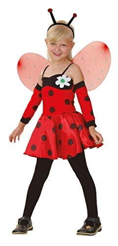 Bristol Novelty Ladybug Kostuum (L) Kinderen Leeftijd 7 - 9 Jaar