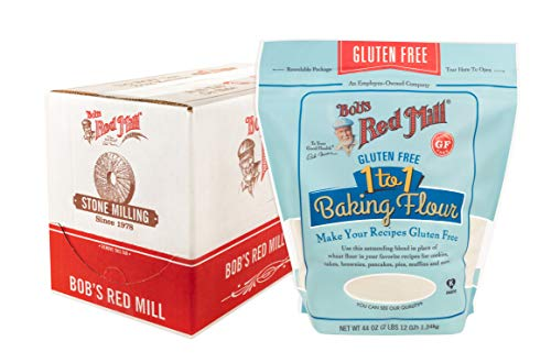 Bob's Red Mill, Gluten Free 1to1 Baking Flour 44 Pack Of 4, 176 Ounce