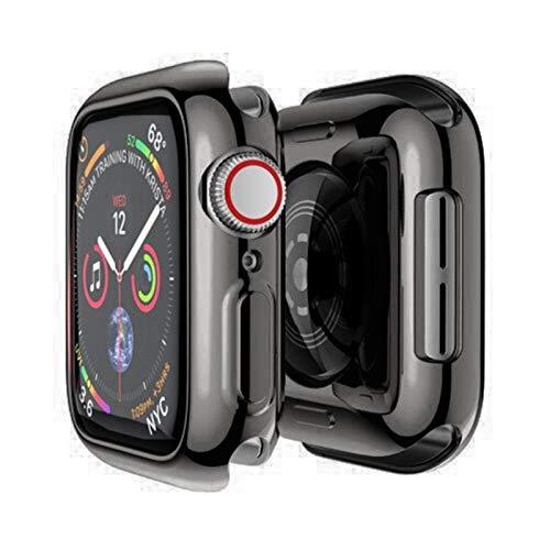 Funda para Apple Watch Case 44mm / 40mm 42mm / 38mm Accesorios Protector de pantalla de parachoques de TPU suave y versátil Serie IWatch SE 3 4 5 6