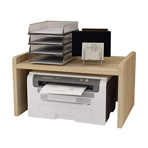 ZXDFG Druckerständer, mehrschichtige Druckerhalterung, geeignet für Office Home Microwave Shelf