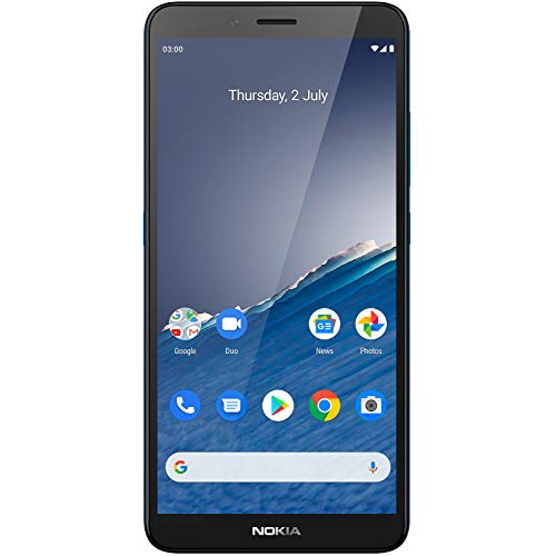 Nokia C3 (Nordic Blue, 2GB RAM, 16GB Storage) with No Cost EMI/Additional Exchange Offers