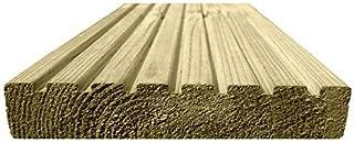 Ruby Drewniane deski tarasowe poddane obróbce 123 mm x 33 m