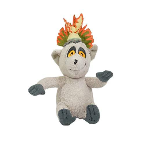 qwermz Plüschtier - Madagaskar Lemur King Julien Kindergeburtstagsgeschenke Raumdekorationen 30cm