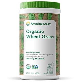 Amazing Grass Wheat Grass Powder: 100% Whole-Leaf Wheat Grass Powder for Energy, Detox & Immunity Support, 60 Servings (B0038B3AGO)   Amazon price tracker / tracking, Amazon price history charts, Amazon price watches, Amazon price drop alerts