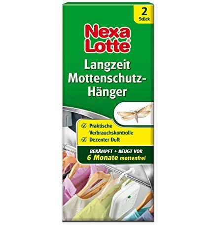 Nexa Lotte Langzeit Mottenschutz Hänger, gegen Kleidermotten, wirkt schnell und bis zu 6 Monate, dezenter Duft, 2 St.