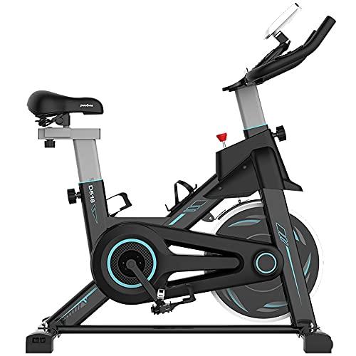 CUN Hervorragendes Trainingsgerät Für Fahrräder Und Heimtrainer Mit LCD-Display, Heimräder, Büro- Und Heimbenchräder, Senioren Und Sportler, Schwarz