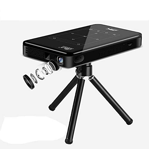 ROMIX Mini Portable Pocket Smart Projector with DLO,HD-in and HD 4K decoding,Compatible with Android,iPhone and Windows