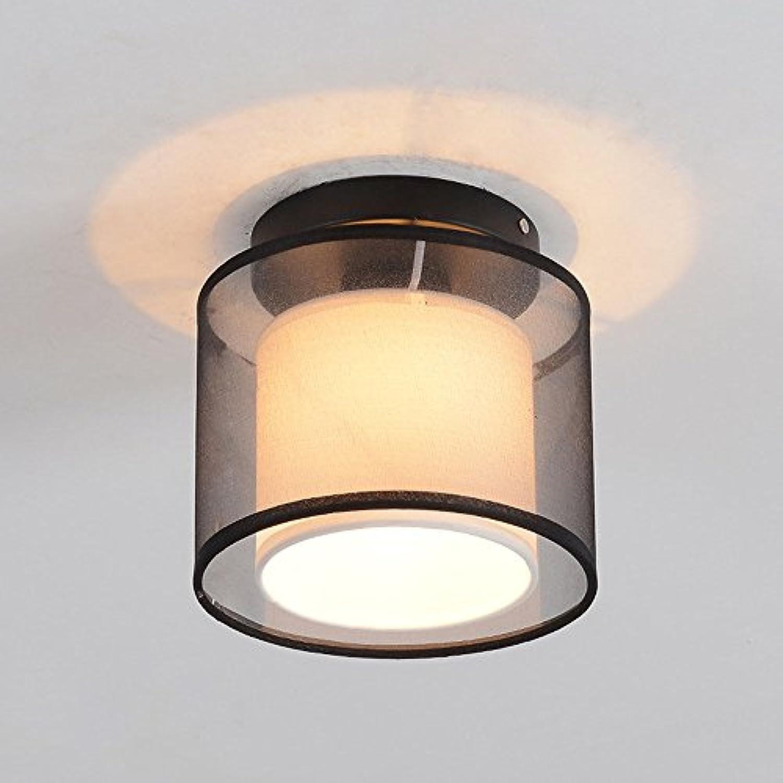 Meetyou LED Rund, Quadratisch Deckenleuchte Balkon Gang Lichteingang Einfach Minimalistisch Foyer Schlafzimmer Küche Licht,Round