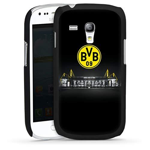 DeinDesign Hard Case kompatibel mit Samsung Galaxy S3 Mini Schutzhülle schwarz Smartphone Backcover BVB Stadion Borussia Dortmund
