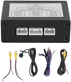 gazechimp Câmera Reversa do carro 2 Canal Interruptor Caixa de Controle de Vídeo para Auto Interruptor Frente/Side/Rear Vi...