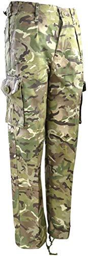 Kombat UK Kinder Combat Hose, Kinder, Combat, British Terrain Pattern, 11-12 Jahre