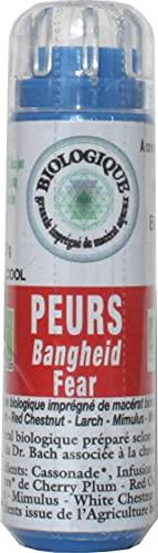 KOSMEO B Peurs Complexe Fleurs de Bach Granules sans Alcool Renforcé par Chromothérapie - BIO - 0.12 kg