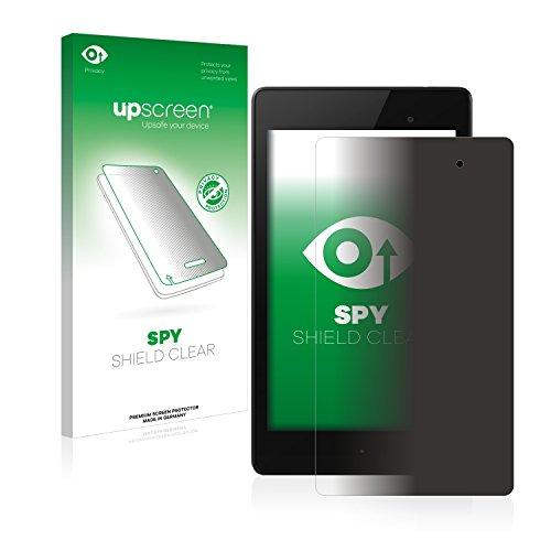 upscreen Anti-Spy Blickschutzfolie kompatibel mit Google Nexus 7 (2013) Privacy Screen Sichtschutz Bildschirmschutz-Folie