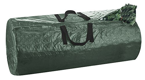 Elf Stor 1005 Premium Christmas Bag-Extra Large, For a 9 Foot Artificial Tree in Green-Easy Holiday Décor Storage, 9'