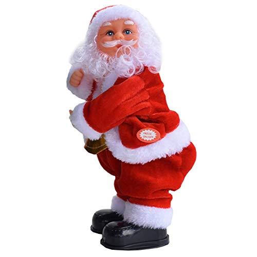 Shaking Arms Daumen hoch Elektrische Musik Weihnachtsmann Spielzeug Musical Dan Funk Butt Movement Dekoration al Toy