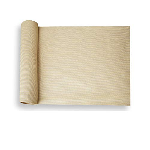 E&K Sunrise 8' x 3' Beige Sun Shade Fabric Sunblock Shade Cloth Roll, 95% UV Resistant Mesh Netting Cover for Outdoor,Backyard,Garden,Greenhouse,Barn,Plant (Customized