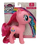 Hasbro My Little Pony E6846 Pinkie Pie - Figura de juguete con pelo peinable y peine, 15 cm, para niños