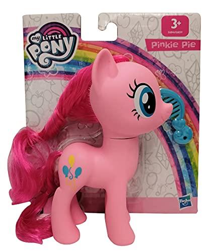 Hasbro My little Pony E6846 Pinkie Pie - Personaggio da gioco con capelli pettinabili e pettine, 15 cm