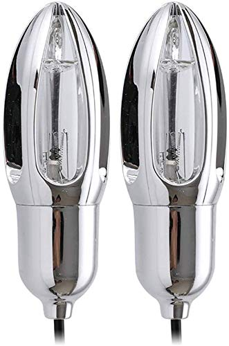Unbekannt Schuhtrockner Smart-Mini UV-Lampe Sterilisation Deodorant Trocknung Schuh Heizung Tragbare Wärmer for Skischuhe, Handschuhe, Mütze, Socken dljyy (Color : Grey)