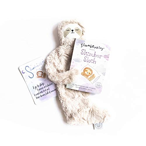 Slumberkins Slumber Sloth Snuggler & Book