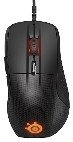 SteelSeries Rival 700 - Ratón óptico de juego, iluminación RGB, 7 botones, pantalla OLED, alertas táctiles, (PC / Mac), negro