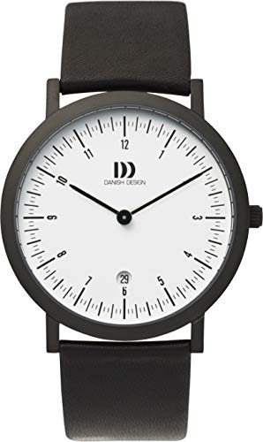 Danish Design Reloj Analógico para Hombre de Cuarzo con Correa en Piel W10582