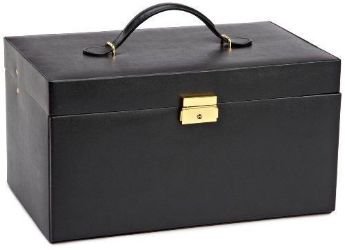 WOLF 280202 Heritage Extra Large Box, Black