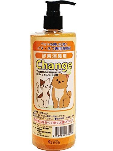 犬、猫専用消臭剤 Change ペット消臭スプレーで臭いを酵素の力で解消 犬、猫のトイレマット ペット介護