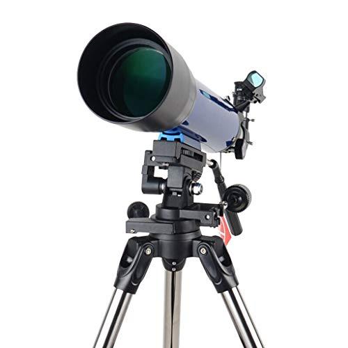 Moolo Astronomía Telescopio Telescopio astronómico, observación de observación Estelar para niños, Luna Telescopio de Gran Calibre de Alta definición de Alta definición Refractores