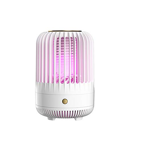 Hines Mosquito Asesino Interior Mute Lámpara insecticida USB Luz de Cama USB para el Estudio de restaurantes de Dormitorio