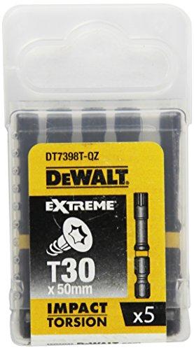 Dewalt DT7398T-QZ Bits T30 50mm EXTREME Impact Torsion (5ST)