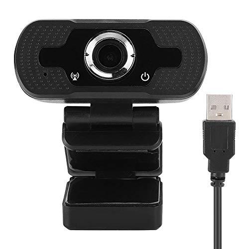 Bewinner1 Cámara Web W8S 1080P HD, micrófono Incorporado Cámara USB Plug Play, cámara de videoconferencia de Conferencia en Red, cámara giratoria de resolución 1920x1080