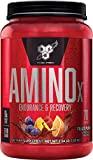 BSN Amino X Muscle Recovery & Endurance Powder with BCAAs, 10 Grams of Amino Acids, Keto F...